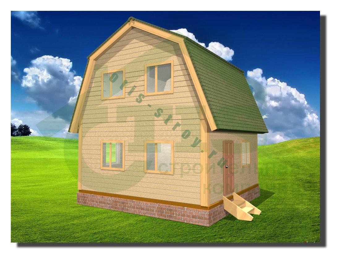Небольшие каркасные дома своими руками
