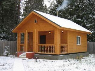 Деревянные дома, бани, профилированный брус